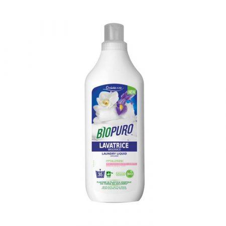 Biopuro folyékony mosószer fehér ruhához 1000ml, 6db/karton