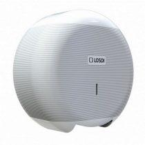 Losdi ECO LUX Line mini toalettpapír adagoló ABS fehér
