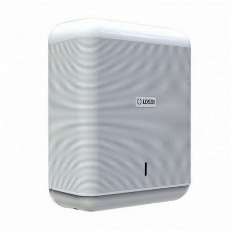 Losdi ECO LUX Line hajtogatott kéztörlő adagoló ABS fehér