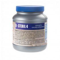 D-Steril 4 klórtabletta, ált. fertőtlenítőszer - Baktericid,fungicid,virucid(HBV/HIV) MRSA