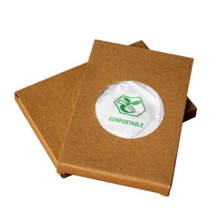 Intim Higiéniai PLA komposztálható, lebomló tasak,150x280mm  25db/cs 24csg/doboz 36doboz/karton