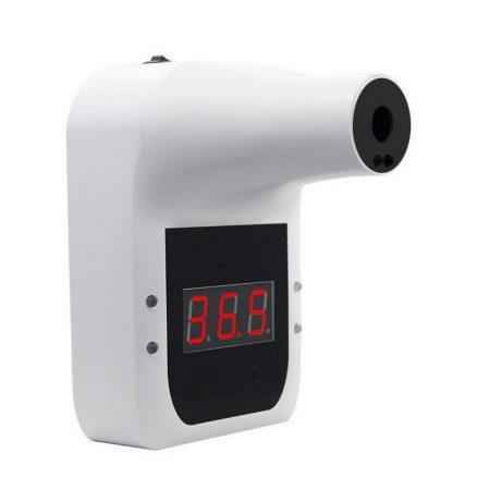 Érintés nélküli fali infrás hőmérő, lázmérő, digitális kijelzővel