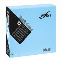 Infibra Szalvéta 33x33cm világoskék 2réteg 50lap/csg 24csg/karton 56kart/rl