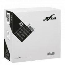 Infibra Szalvéta 38x38cm Fehér 2 réteg 40 lap/csomag (36 csomag/karton)