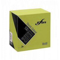 Infibra Szalvéta 25x25cm lime 2 réteg 100 lap/csomag 30 csomag/karton