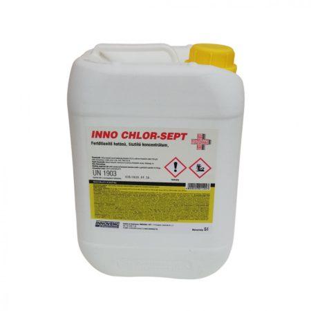 INNO CHLOR-SEPT fertőtlenítő hatású tisztítószer 5L