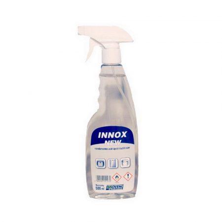 INNOX NEW rozsdamentes-acél ápoló-tisztító szer szórófejes 0,5L 20db/kart