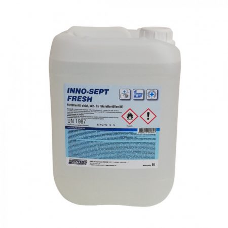 INNO-SEPT FRESH kéz- és felületfertőtlenítő oldat 5L
