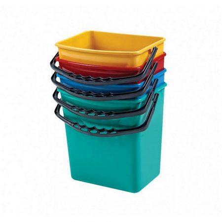 Műanyag 6L-es kék vödör