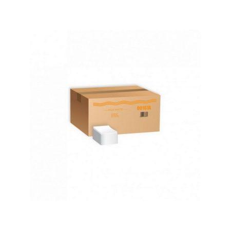 Koktél szalvéta 2 rétegű, fehér, 20x20cm 2500 szál/karton 42 doboz/raklap (00161A)