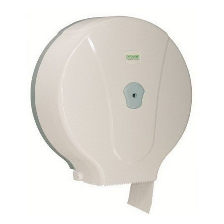 Vialli maxi 29cm-es toalettpapír adagoló ABS műanyag, fehér