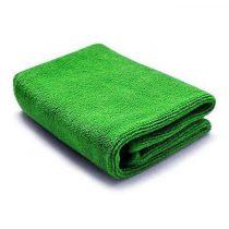 Mikroszálas törlőkendő 32x32cm 300g/m2 zöld 10 db-os