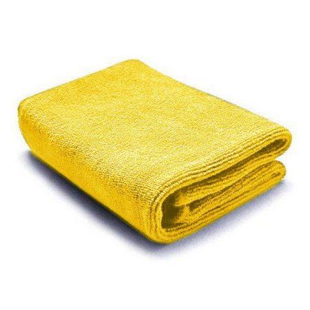 Mikroszálas törlőkendő 40x40cm 300g/m2 sárga 10 db-os