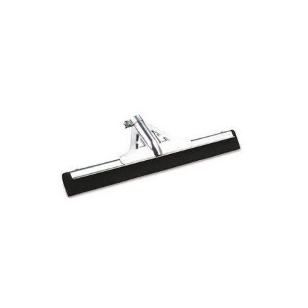 Gumibetétes padlólehúzó, vízösszehúzó, fém, fekete 45cm széles 10db/karton
