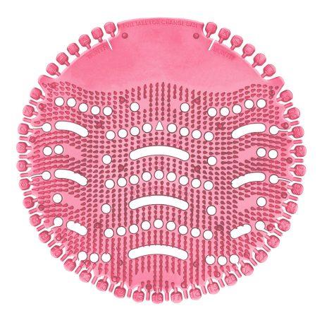Piszoár illatosító rács Wave, uborka-dinnye (rózsaszín)
