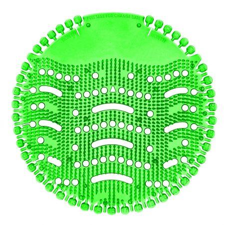 Piszoár illatosító rács Wave, MENTA (sötét zöld) 1db/csomag