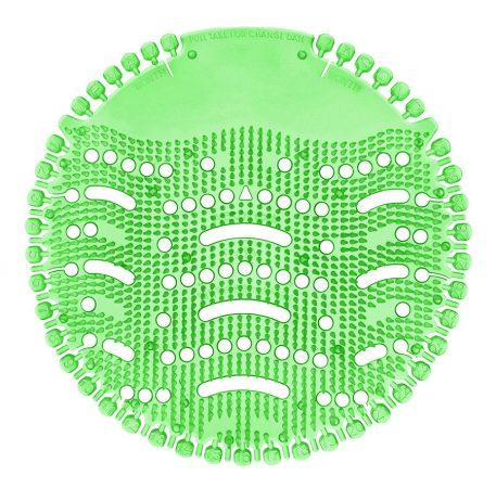 Piszoár illatosító rács Wave, KIWI - GRAPEFRUIT (világos zöld) 1db/csomag