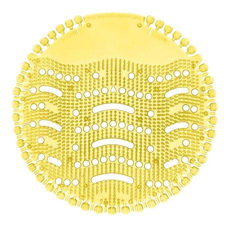 Piszoár illatosító rács Wave, citrom (sárga)