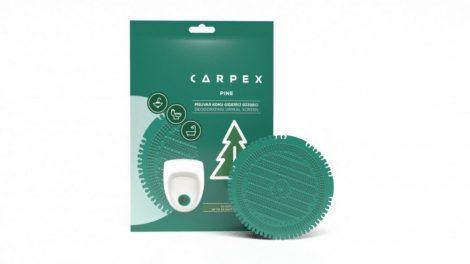Piszoár illatosító rács Carpex, fenyő (zöld)