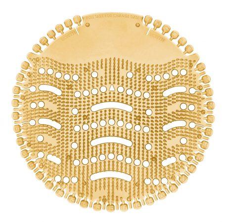 Piszoár illatosító rács Wave, FŰSZERES ALMA (fahéj színű) 1db/csomag