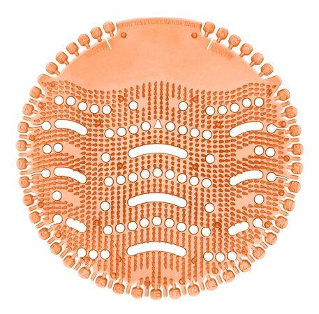 Piszoár illatosító rács Wave, bogyós-gyümölcs (narancs-piros)