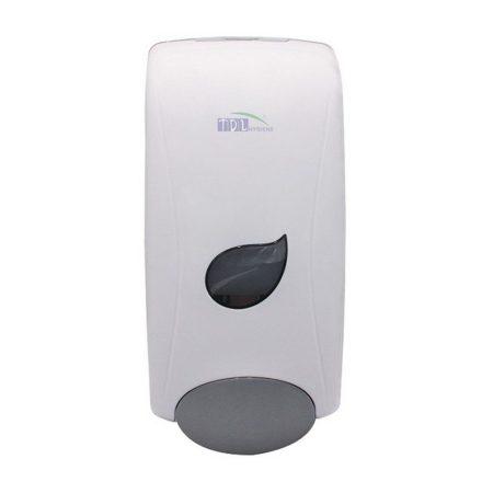 Folyékony szappan, gél adagoló 1 literes utántölthető tartállyal