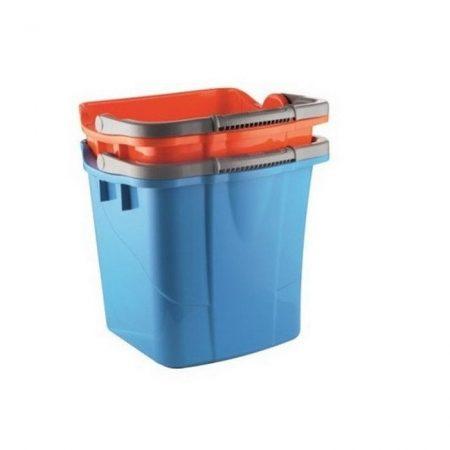Műanyag kék 25L-es vödör