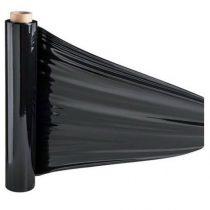 Kézi sztreccsfólia fekete 500/23/2,4 kg 160m
