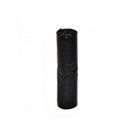 Szemeteszsák fekete 60x70 15mikron 60L 20db/roll 25roll/csomag 500db