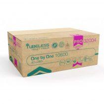 Tubeless V Hajtogatott toalettpapír 2 rétegű, 100% cellulóz, 40x265 lap 10600 lap/karton