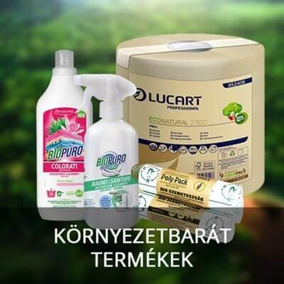 Környezetbartát termékek
