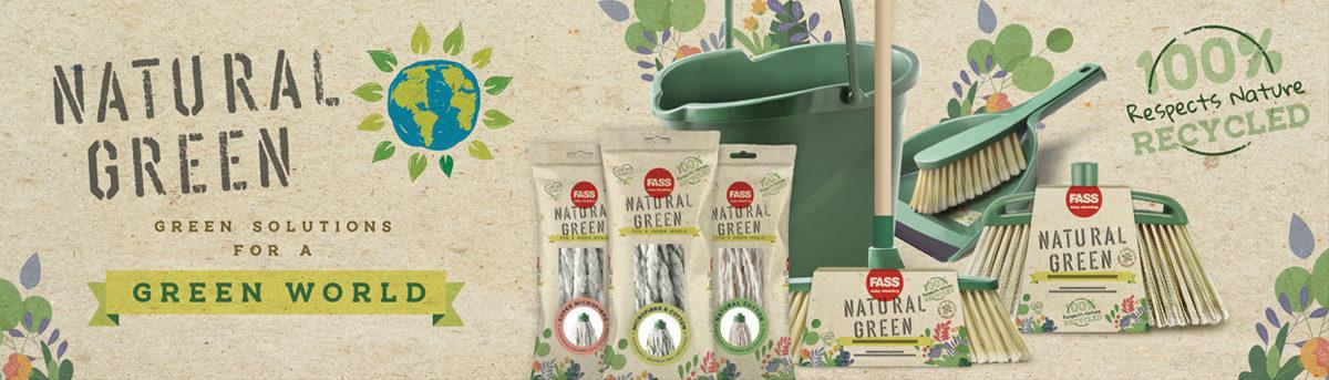 FASS Natural Green környezetbarát takarítóeszközök