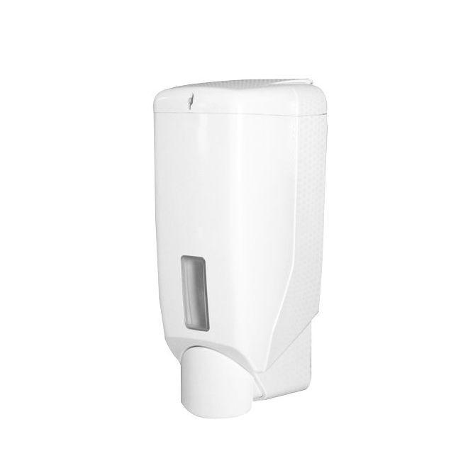 QTS folyékony szappan adagoló műanyag, fehér, 600 ML