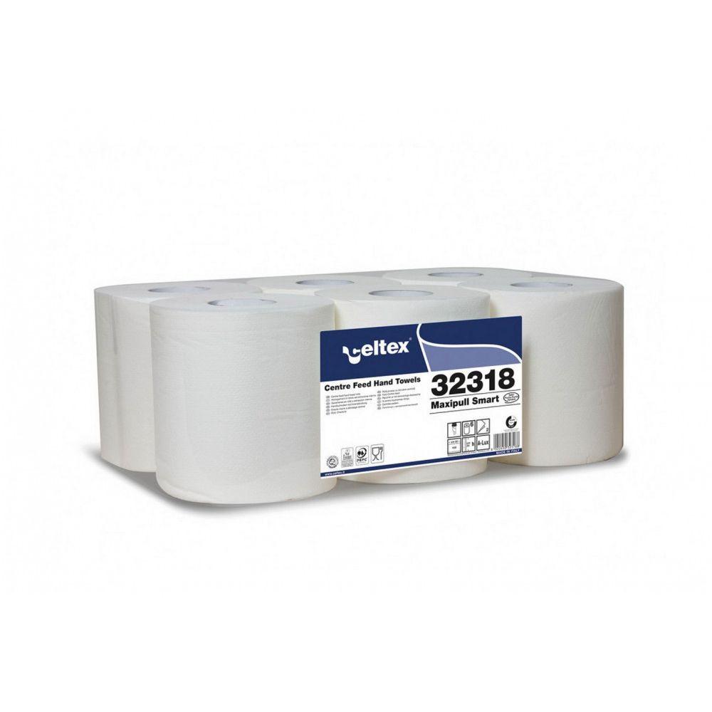 Celtex Maxipull Smart 2 réteg, 135m, 450 lap, 20x30cm 6 tekercs/zsugor