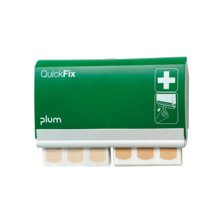 Plum QuickFix ragtapaszadagoló 1 x 45 db vízálló + 1 x 45 db rugalmas ragtapasszal