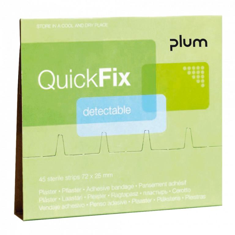 Plum QuickFix kimutatható fémszálas ragtapasz 45 db-os