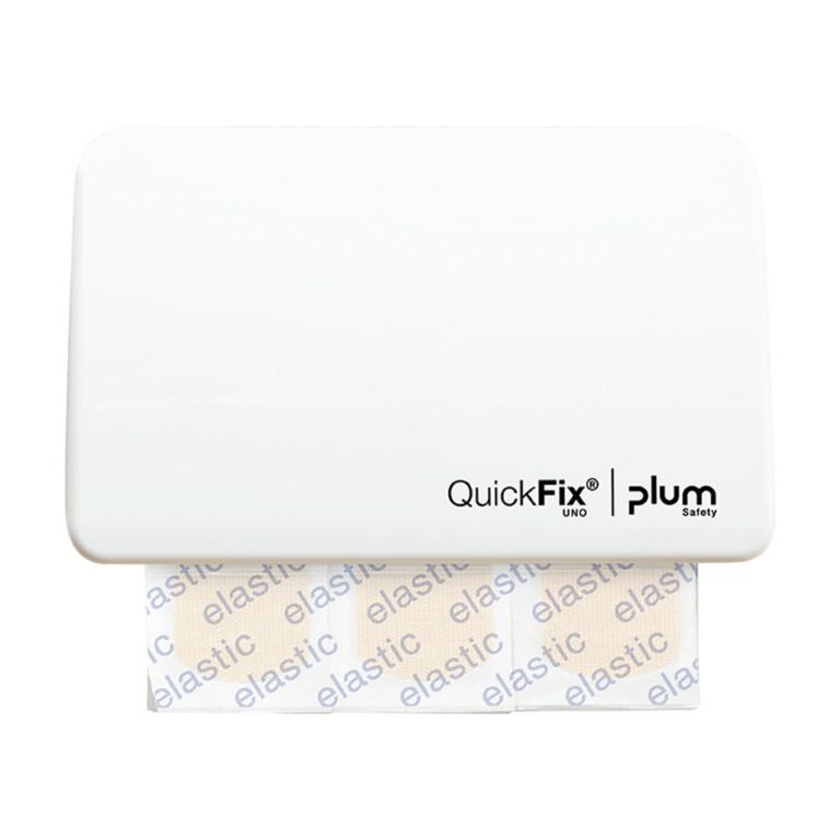 Plum QuickFix UNO Ragtapaszadagoló fehér 1 x 45 db rugalmas ragtapasszal