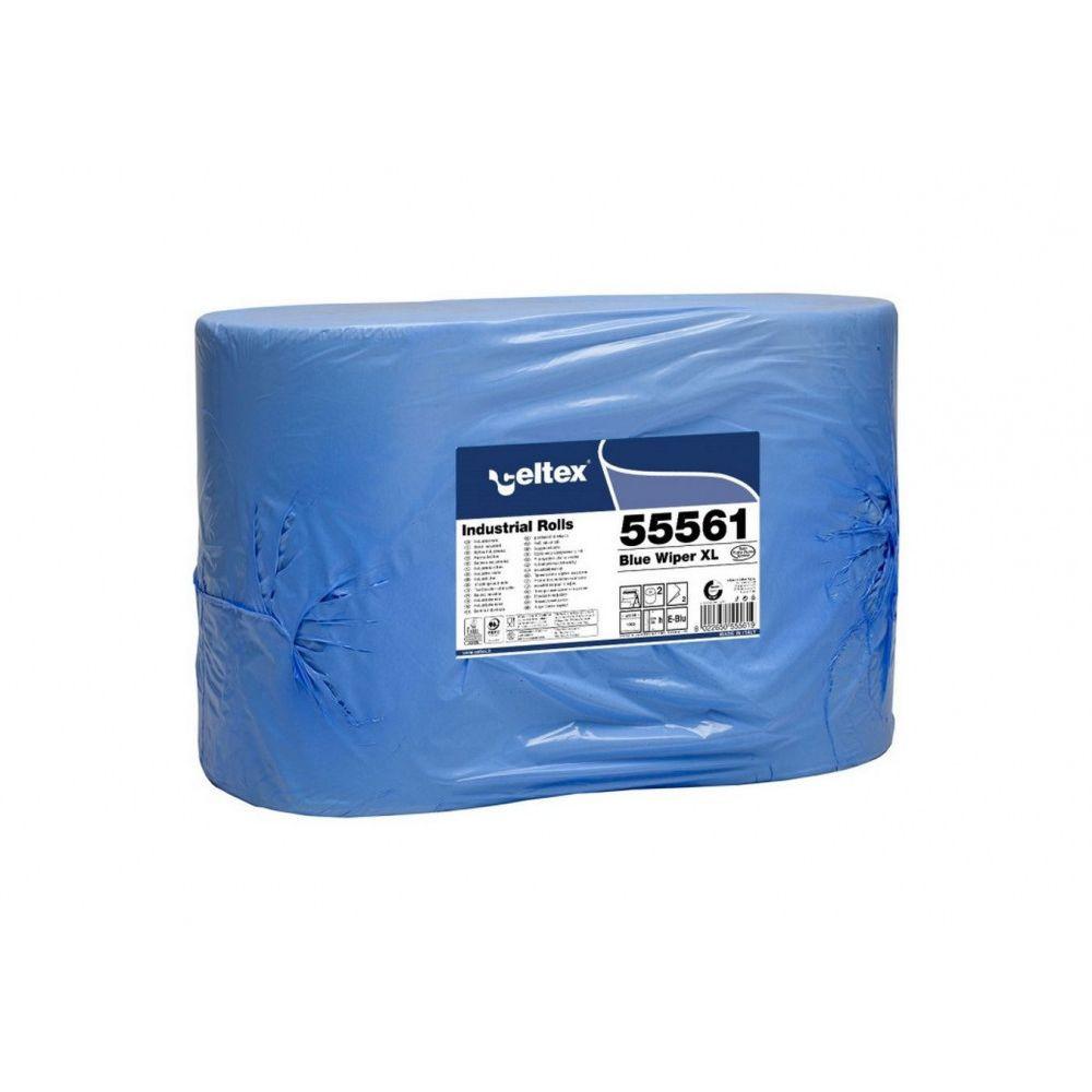 Celtex Blue Wiper XL ipari törlő kék cellulóz, 2 réteg, 1000 lap, 360m, 36x36cm, 2 tekercs/zsugor