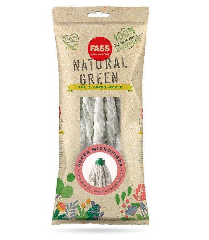 Fass Natural Green mikroszálas felmosó fej