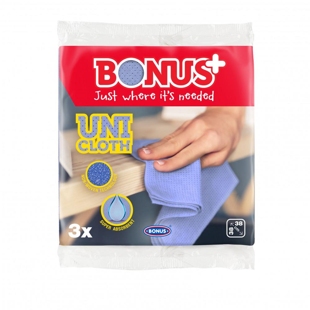 Bonus Uni kendő 38x38cm 3 darabos