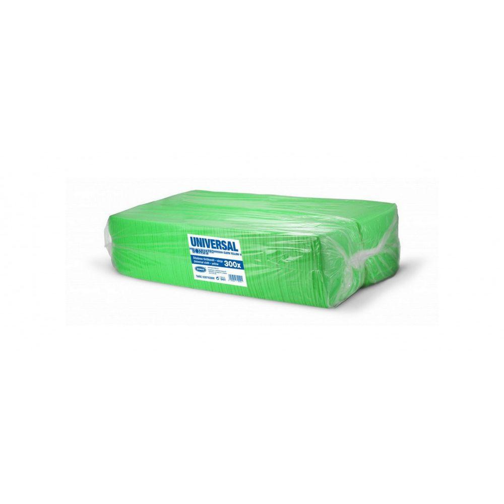 Bonus Univerzális zöld törlőkendő 36x36cm 300 darabos