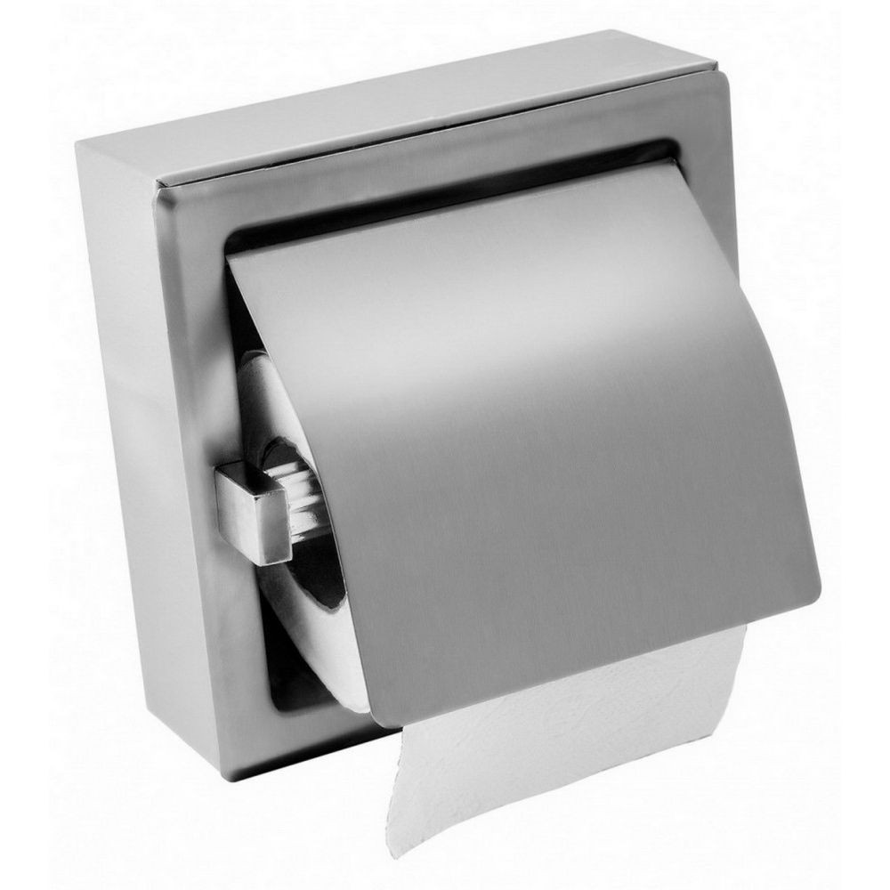 Rozsdamentes acél toalettpapír adagoló kistekercses