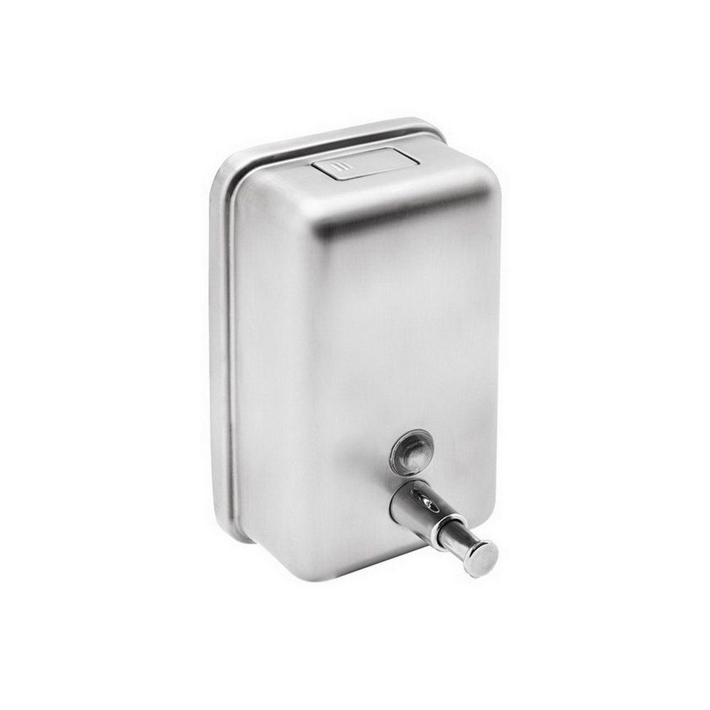 Rozsdamenetes folyékony szappan adagoló 1 literes, fényes 304 SS