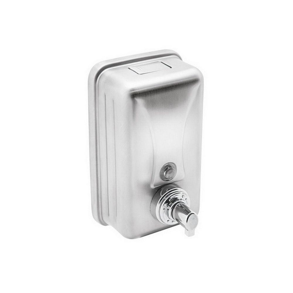 Rozsdamentes habszappan adagoló,1 literes,13x7x22cm, fényes 304S.S., 12db/kart