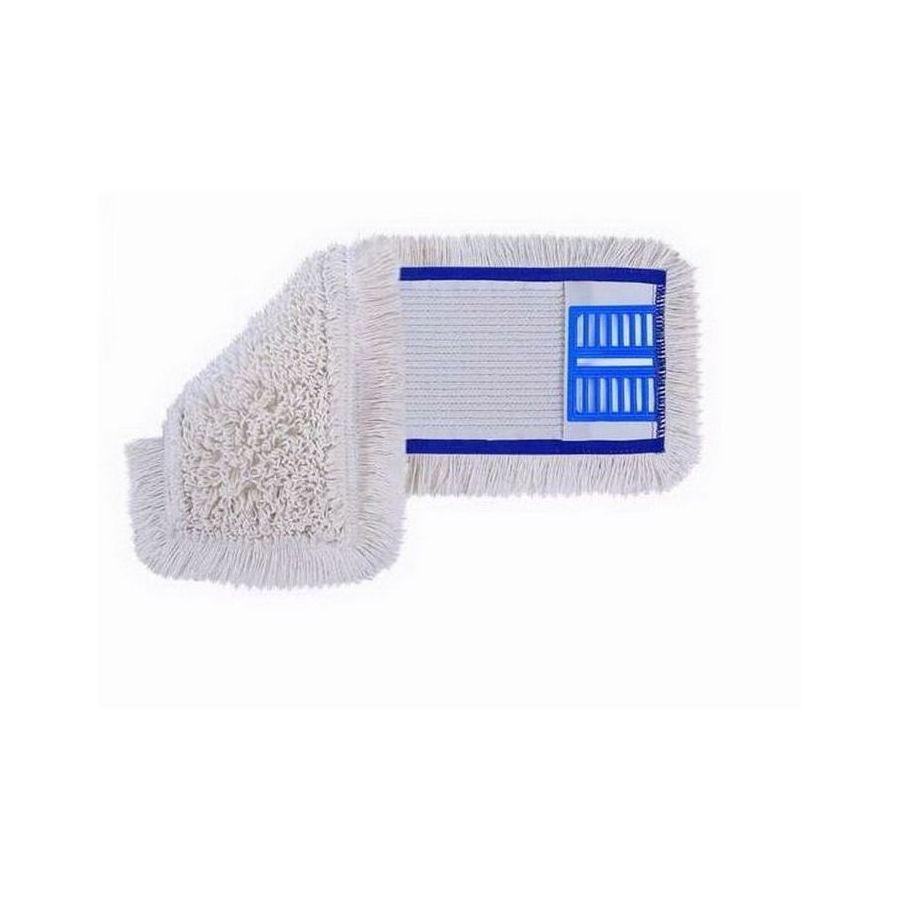 Mop pamut 40cm műanyagfüles és zsebes 75db/karton