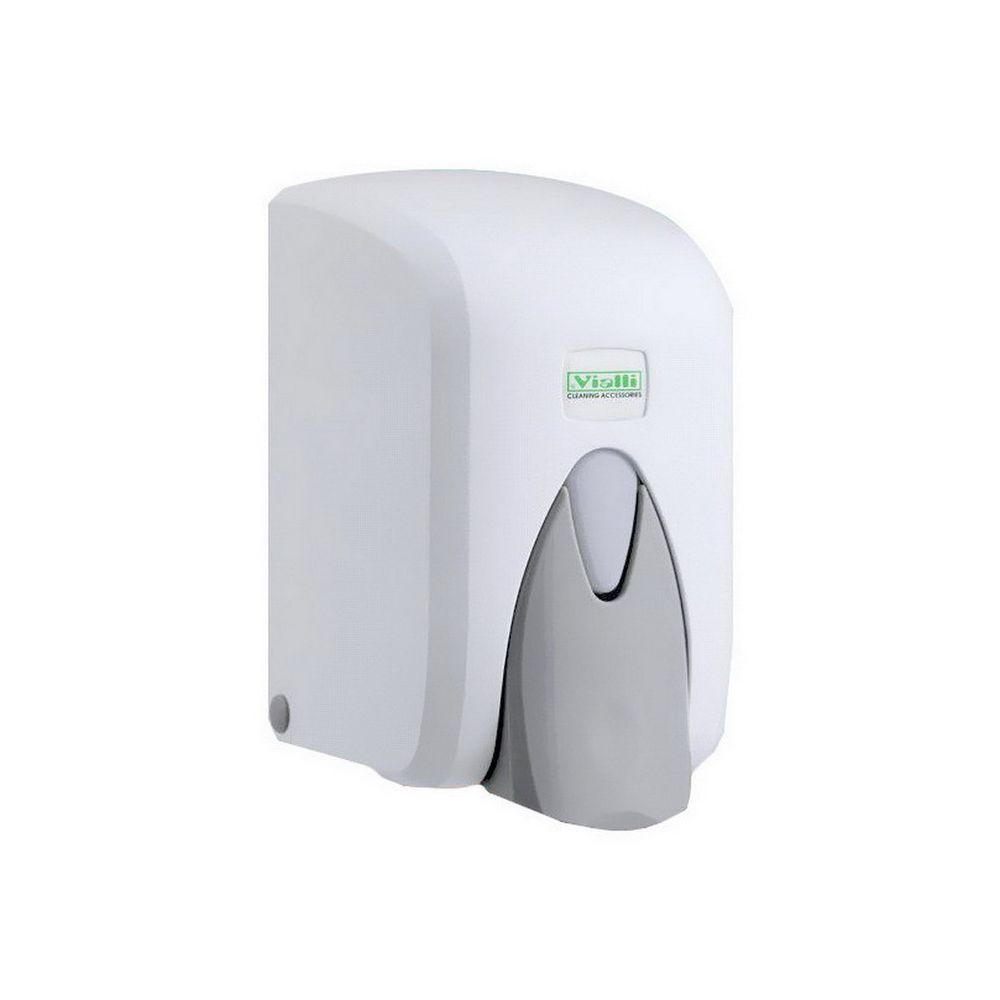 Vialli Habszappan adagoló, ABS műanyag, patronos, fehér, 800 ml