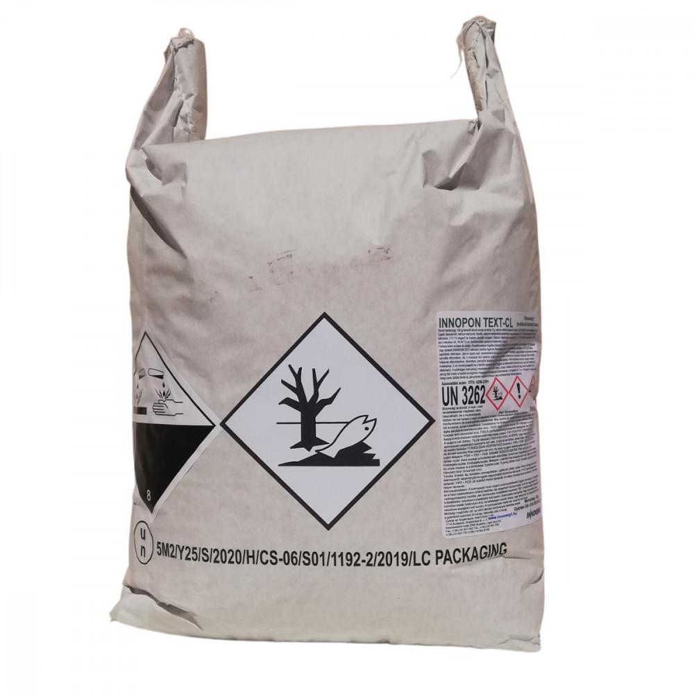 INNOPON TEXT CL főmosó fertőtlenítő fehérítő hatású mosószer 20 kg