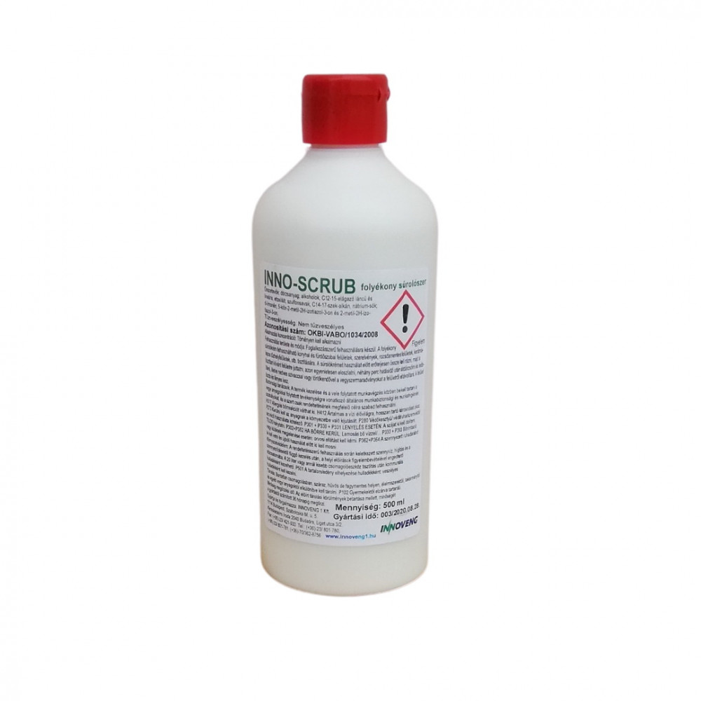 INNO-SCRUB folyékony súrolószer 0,5L
