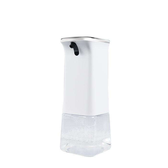 Szenzoros spray szappan és kézfertőtlenítő adagoló, akkumulátoros, asztali 350 ml