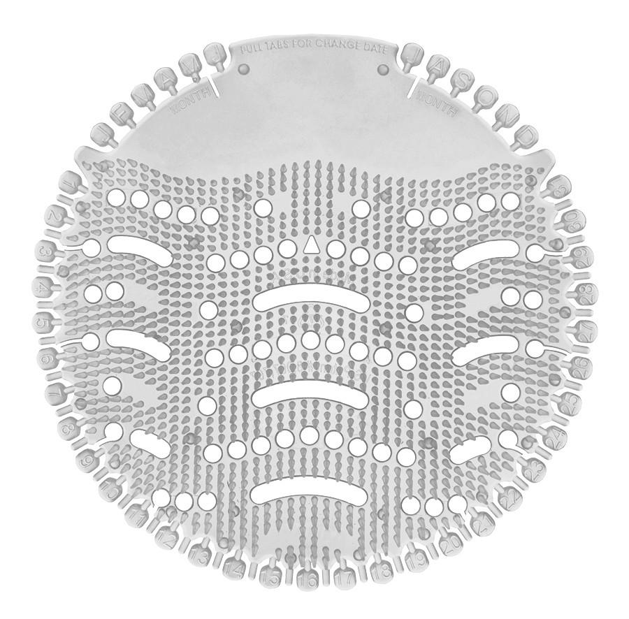Piszoár illatosító rács Wave, loncvirág (fehér)